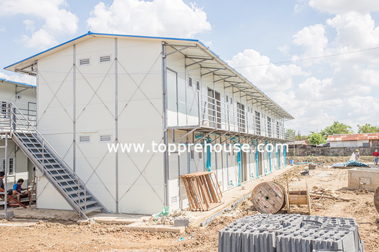 Philippines sandwich panel house project