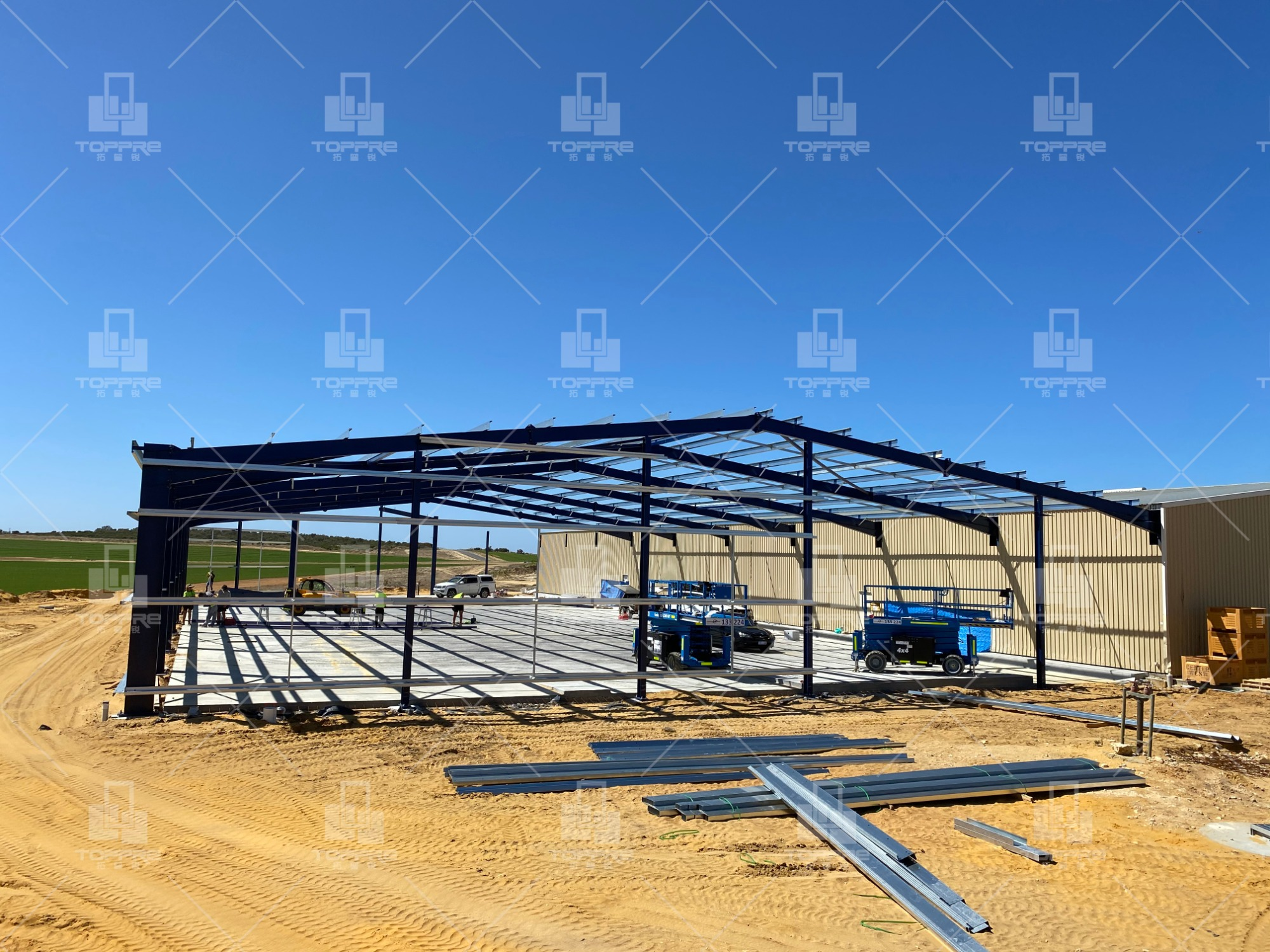 Australia steel structure warehouse